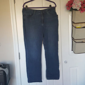 Lee Perfect Fit Straight Leg 14 Short Jeans